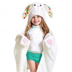 Serviette de bain enfant Bella le lapin Zoocchini
