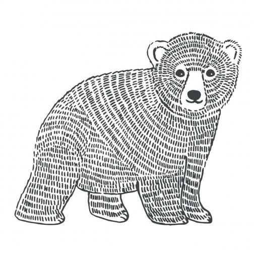 Stickers chambre enfants XL ours