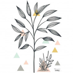 Stickers Enfants buisson et triangle Lili Lilipinso