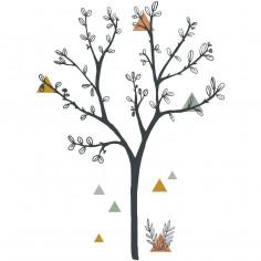 Stickers Enfantsxl Arbre et triangle Lili Lilipinso