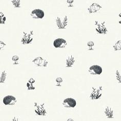Papier peint enfant animaux de la forêt Lilipinso