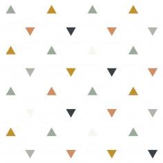 Papier peint enfant forme géométrique