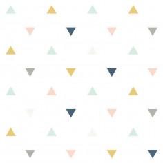 Papier peint enfant géométrique Lilipinso
