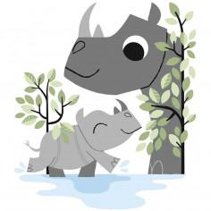 Stickers Enfants XL Rhino Lilipinso