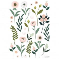 Stickers Enfants fleurs et feuillage Lilipinso