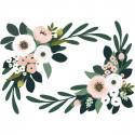 Stickers Enfants XL ornement de fleurs Lilipinso