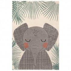 Tapis enfant éléphant