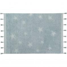 Tapis étoiles en coton
