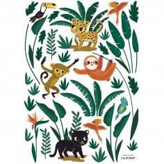 Stickers enfant Jungle night