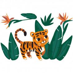Sticker garçon Jungle géant