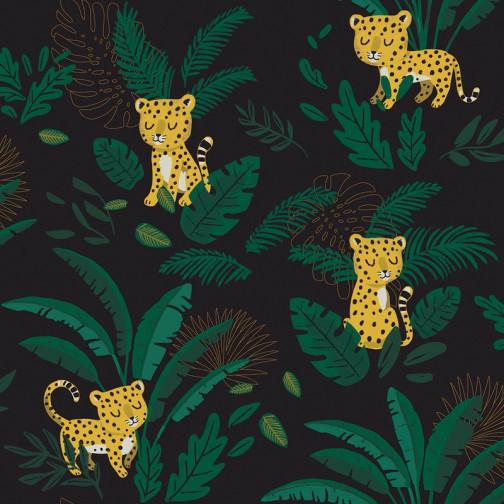 Papier peint enfant Jungle tigre