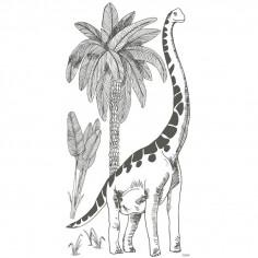 Sticker géant Brontosaure