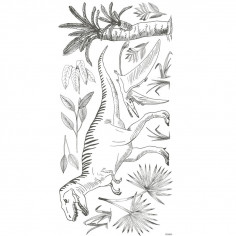 Sticker enfant XL dino Tyrannosaure
