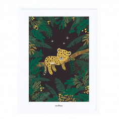 Tableau enfant Jungle Lilipinso