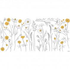 Stickers enfant Grandes Fleurs des Champs