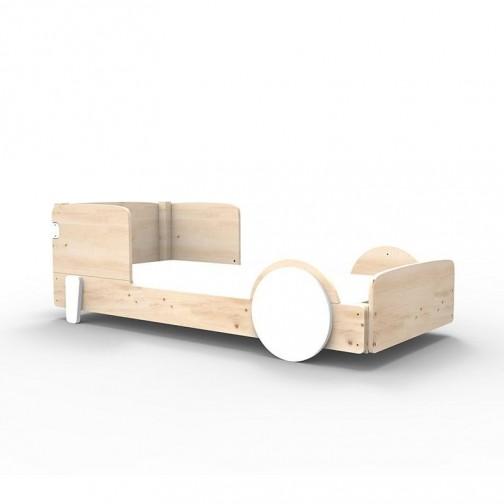 LIT MONTESSORI - Lit Simple DISCOVERY Blanc