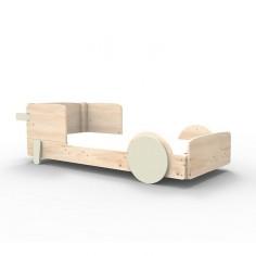 Lit Montessori Greige Lit simple