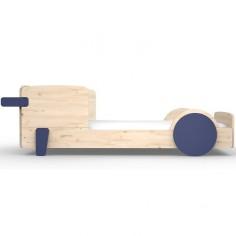 Lit Montessori Profil Bleu atlantique Lit simple