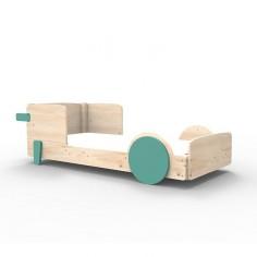 Lit Montessori Vert Leger Lit simple