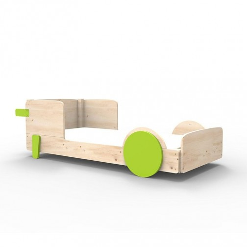 Lit Montessori Vert Pomme Lit simple