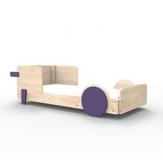 Lit Montessori Violet Cuberdon Lit simple