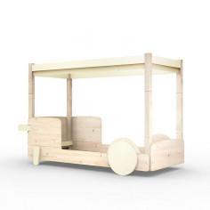 Lit-Montessori-Lit-Cabane-Beige-Ivoire