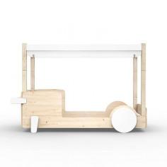 Lit-Montessori-Lit-cabane-Blanc