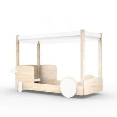 Lit-Montessori-Lit-cabane-Blanc-incline