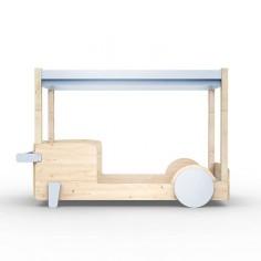 Lit-Montessori-Lit-voiture-bleu-poudre
