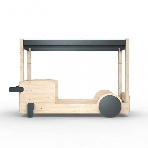 Lit-Montessori-Lit-voiture-gris-basalte