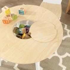 table-bois-rangement-integre