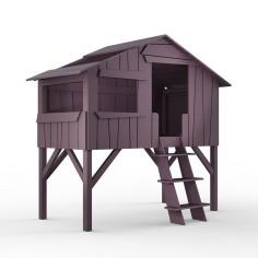 Lit cabane enfant coloris au choix Mathy by Bols