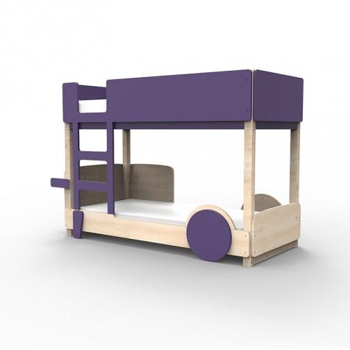 Lit Superposé Montessori Violet Cuberon