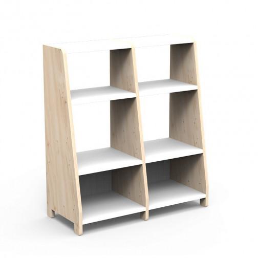 double-etagere-montessori-blanc