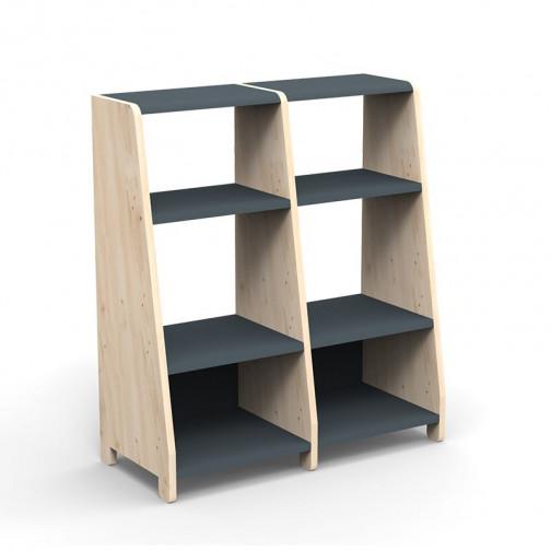 double-etagere-montessori-gris-basalte