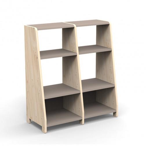 double-etagere-montessori-taupe
