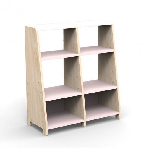 double-etagere-montessori-rose-poudre