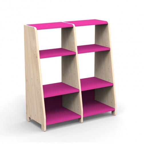 double-etagere-montessori-rose-ete