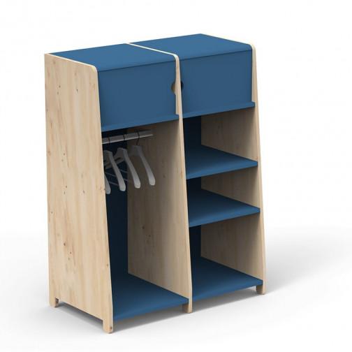 Penderie-double-montessori-bleu-atlantique