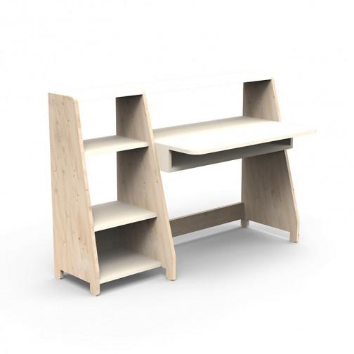 Bureau-Montessori-avec-etagere-beige