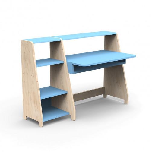Bureau-Montessori-avec-etagere-bleu-azur
