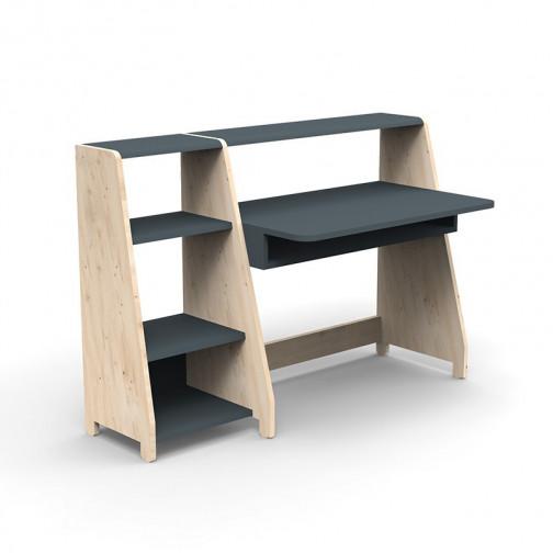 Bureau-Montessori-avec-etagere-gris-basalte