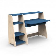 Bureau-Montessori-avec-etagere-bleu-atlantique