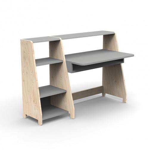 Bureau-Montessori-avec-etagere-gris-ciment