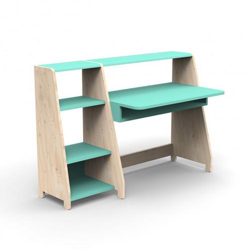 Bureau-Montessori-avec-etagere-vert-leger