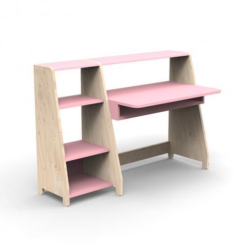 Bureau-Montessori-avec-etagere-rose-tres-clair