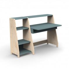 Bureau-Montessori-avec-etagere-gris-orage