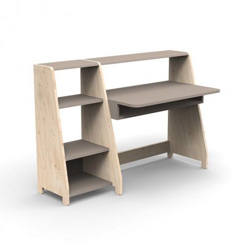 Bureau-Montessori-avec-etagere-taupe
