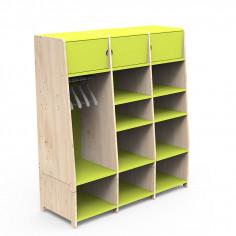 Dressing-Montessori-vert-pomme