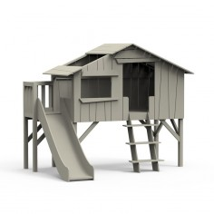Lit-cabane-toboggan-plateforme-gris-mousse